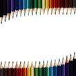 Buntstifte mit Textfreiraum