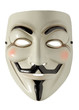 canvas print picture - Fawkes Maske