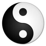 Fototapete Yin - Symbol - Icon