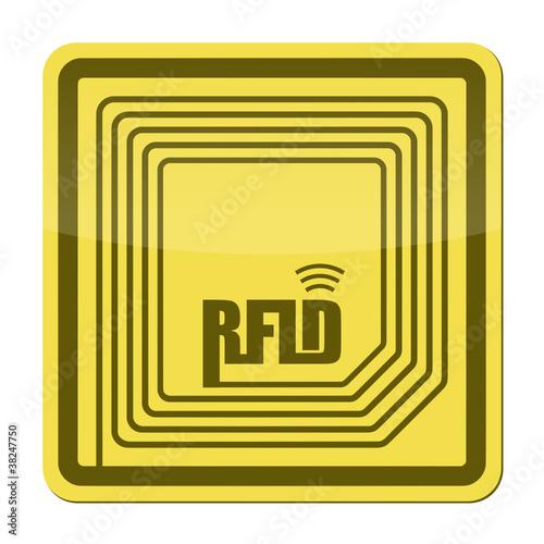 rfid chip V - 38247750