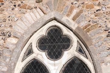 Stone window arch