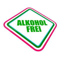 schild schräg v2 alkoholfrei I