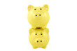 Stacked Piggy Banks Series - Yellow