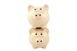 Stacked Piggy Bank Series - Traditional