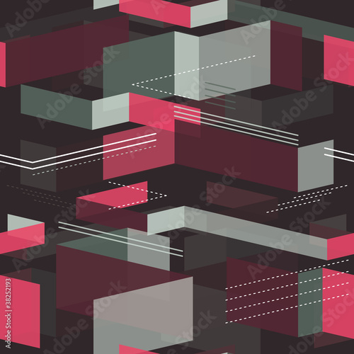geometrical seamless pattern - vector