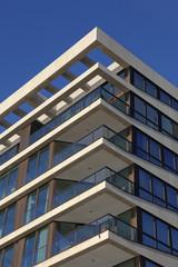 Details einer modernen Wohnimmobilie