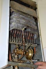 Vieja caldera Old boiler