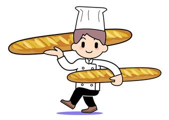 Bakery-carry bread