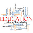 Education Word Cloud Concept