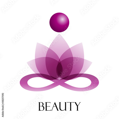 Logo spa, yoga and relax # Vector