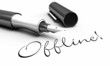 Offline! - Stift Konzept