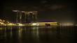 Singapore Marina Bay at night
