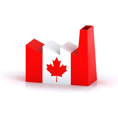 Canadian factory symbol