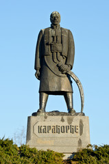 Monument commemorating Karadjordje Petrovic in front of Saint Sa