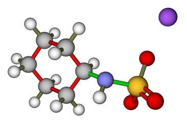 Sodium cyclamate molecular structure