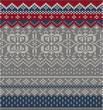 Nordic knitting pattern 3