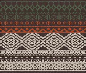 Nordic knitting pattern 2