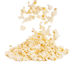 popcorn isolated