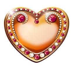 inlaid heart