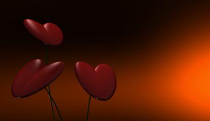 Flor de corazón