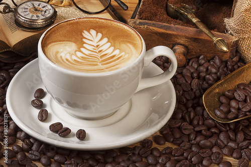 Zdjęcia na płótnie, fototapety na wymiar, obrazy na ścianę : Kaffee
