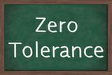 Zero Tolerance Policy at schools poster