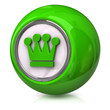 Green crown icon