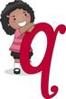 Letter Kid Q