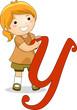 Letter Kid Y