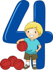 Number Kid 4