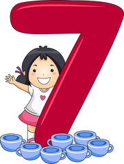 Number Kid 7