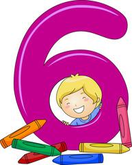 Number Kid 6