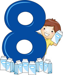 Number Kid 8