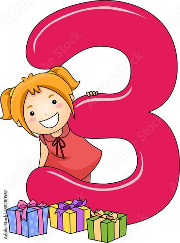 Number Kid 3
