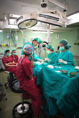 Surgery operation procedure