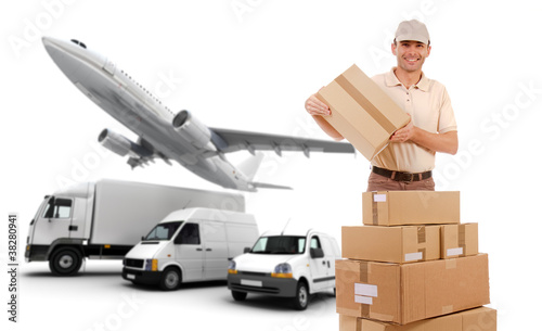 Transport logistics chain