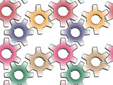 gear wheels pattern