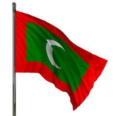 maldives flag / flag of maldives