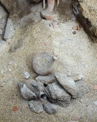 Anfore, scavi archeologici