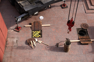 Manutenzione della fognatura