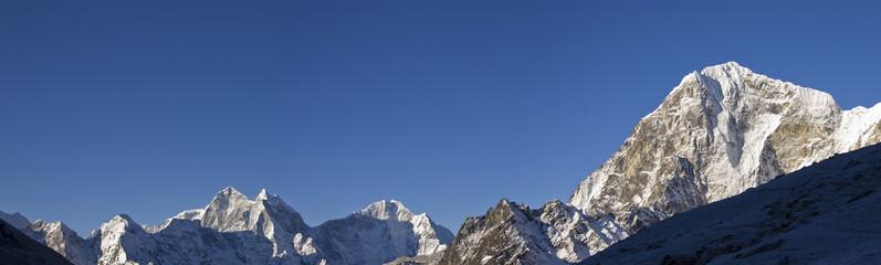 himalaya mountain range sagarmatha np