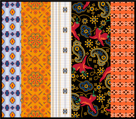 Fabrics patchwork