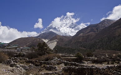 ama dablam everest region nepal