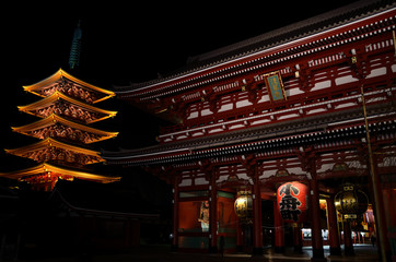 Night of Sensouji Temple