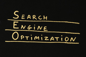 SEO Optimization conception