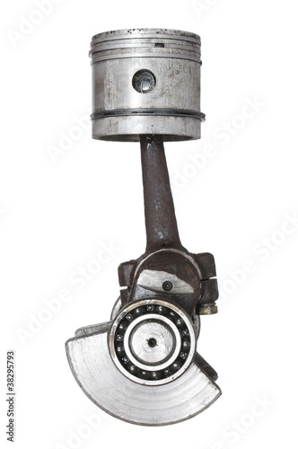 piston and connecting rod - 38295793