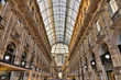 Galleria Vittorio Emanuele shopping Center, Milan,
