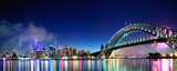 Sydney Harbour NYE Fireworks Panorama - Fine Art prints