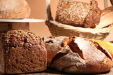 In der Bäckerei, Brot Auswahl