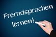 Fremdsprachen lernen !